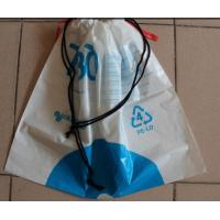 Quality Lovely Drawstring Plastic Bags For Children Toy And Books / Kids Gift for sale