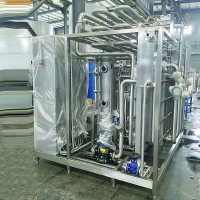 High heat recovery and lower energy cost  ice cream pasteurizer machine Manufactures