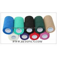 Cohesive Bandage Non Woven Fabric Hand Tearable For Cow Equine Horse Protection Manufactures