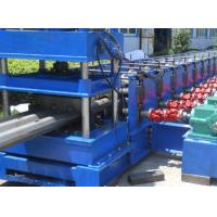 3 Waves 45 Kw Profile Steel Roll Forming Machine For Expressway Guard Bars Manufactures