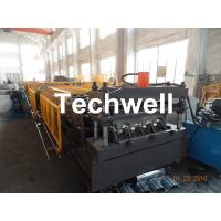 Welding Wall Plate Machine Frame Structural Metal Deck Forming Machine With Chain Transmission Manufactures