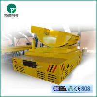 Battery powered DC motor driven hotmetalladletransfercart explosion proof exported to Turkey Manufactures