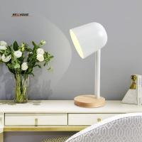 Quality Modern table lamp for bedroom lving room Study room abajur para quarto Colorful abajur para quarto with lampshade for sale
