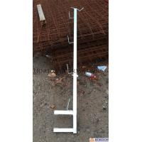Professional Slab Formwork Systems Galvanized Adjustable Guardrail Post 1.0m Manufactures
