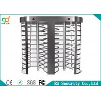 Rust-proof RFID Control  Full Height Turnstiles Used For Intelligent Access Manufactures
