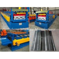 High Strength 22KW Floor Deck Roll Forming Machine With Gearbox Drive Manufactures