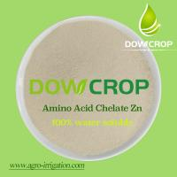 DOWCROP HOT SALE HIGH QUALITY ZINC AMINO ACID CHELATED POWDER 100% water soluble fertilizer Manufactures