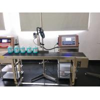 4 Lines Industrial Coding Ink Jet Cij Printer , Automatic Batch Coding Machine Manufactures
