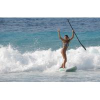 Portable Sport Equipment Inflatable Standing Paddle Board , Inflatable Race Sup Manufactures