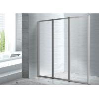 Folded Screen Glass 1400 X 800 Walk In Shower Enclosure CE SGS Certification Manufactures