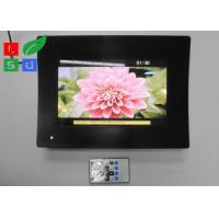 Quality Temperature Glass Face LCD Digital Signage , Resolution 1024x600 LCD Advertising Player for sale
