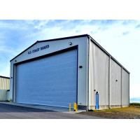 Gable Style Military Steel Structure Aircraft Hangar Prefabricated Steel Structure Manufactures