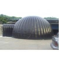 Black 0.45mm Outdoor Inflatable Marquee , Giant Inflatable Dome Tent For Party Manufactures