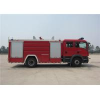 Water 5684L Light Fire Truck Gross Weight 15330kg Four - Stroke Turbocharged Engine Manufactures