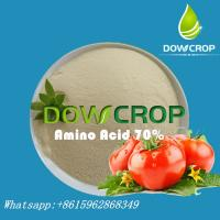 DOWCROP HIGH QUALITY  AMINO ACID POWDER 70% HOT SALE  100% COMPLETELY WATER SOLUBLE  FERTILIZER ORGANIC FERTILIZER Manufactures