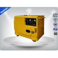Three Loops 3 Phase Portable Generator Set 72 dB With Digital Panel , Silent Frame Manufactures