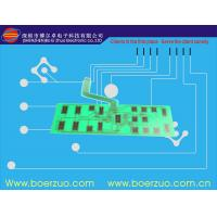 PET / PC Tactile Membrane Switch With Leds , 0.125 Flexible PCB Keyboard Manufactures