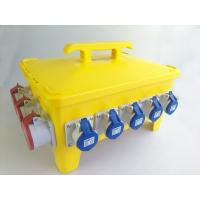 IP66 36 Ways Portable Distribution Box Yellow Load Master Overcurrent Protection Manufactures