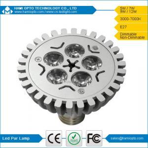 High brightness led par light 7w AC85-265V Manufactures