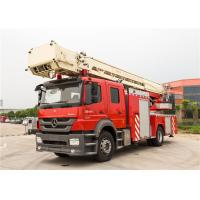 Stroboscope Lamp Rescue Fire Truck Max Loading 23700kg With Waterway Operate Panel Manufactures
