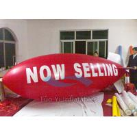 Wedding Party Red Balloon Zeppelin Inflatables With Logo Printing Manufactures