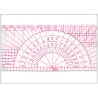 12 Inch Durable Plastic Pattern Making Ruler multi use 30 CM Kearing Ruler for Fashion Design Manufactures