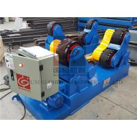 Self Aligning type Pipe Welding Rotator With 20T Capacity for Boiler Automatic Welding Manufactures