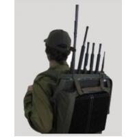 5 Band 75w Manpack Portable Cell Phone Signal Jammer For Army / Police