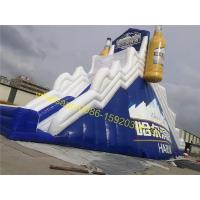bear advertising bouncy dry slide for sale Manufactures