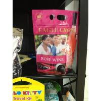 Customized Red Printed Stand Up Pouch With Spout Packaging Leak Proof Manufactures