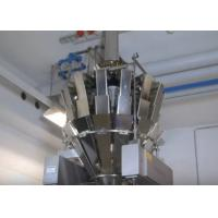 Full Automatic Packaging Solutions for Salt / Sugar Granule Filling , High Speed Manufactures