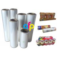Premium Center Folded Polyolefin Shrink Film For Heat Wrapping Moisture Proof