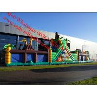 Custom Made Inflatable Obstacle Course Jungle Manufactures