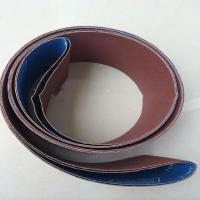 China Metal Surface Grinding Cloth Sanding Belt , Emery Cloth Sanding Belts Customized Size on sale