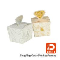 Folding Custom Printed Packaging Boxes , Delicate Cute Chocolate Gift Boxes Packaging Manufactures