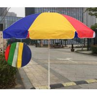 Durable Outdoor Parasol Umbrella Beach Umbrella With Carbon Steel Ribs Manufactures
