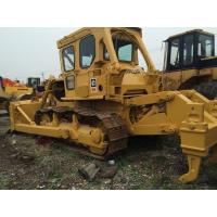 200hp Second Hand Bulldozers , D7G Small Caterpillar Dozer With Shovel Manufactures