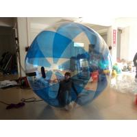 Durable People / Person Inflatable Walking Ball Blue Stripe In Summer Manufactures