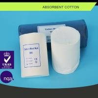 Absorbent Cotton Wool 50G 100G 500G Medical Textile Products Surgical Dressing Manufactures