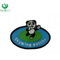 Durable Kid Clothes Art Iron On Patches With Glow In The Dark Thread Manufactures