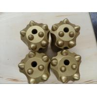 1 1/4 Rock Drilling Tools , Tapered Tungsten Carbide Button Bits Manufactures