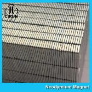 Square Industrial Neodymium Magnets Bar Block N54 Grade High Strength Manufactures