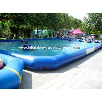 Water Park Inflatable Above Ground Pools, Commercial Inflatable Swimming Pond Manufactures