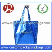 Biodegradable Soft Flex-loop Carrier  Die Cut Handle Plastic Bag with Punch Hole Manufactures