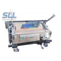 Self Leveling Pole Folding Automatic Wall Plastering Machine Light Weight Manufactures