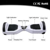 Quality 6.5 Inch 2 Wheel Hoverboard Electric Scooter Self Balancing Stand Up Electric Hoverboard for sale