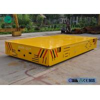 China 75 t battery powered wheel transfer car for stamping die bay handling on sale