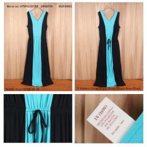China women's Cheap surplus clothes selling leads,Plus & large size long maxi bohemi beach dress on sale