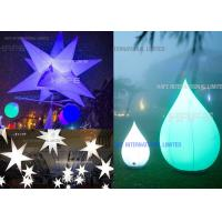 Customized Party Events Column Lights / Star Light Decoration Color - Changing Manufactures