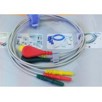 Buy cheap Patient ECG Monitor Cable 3 Color Alligator clip electrodes Needle Electrode from wholesalers